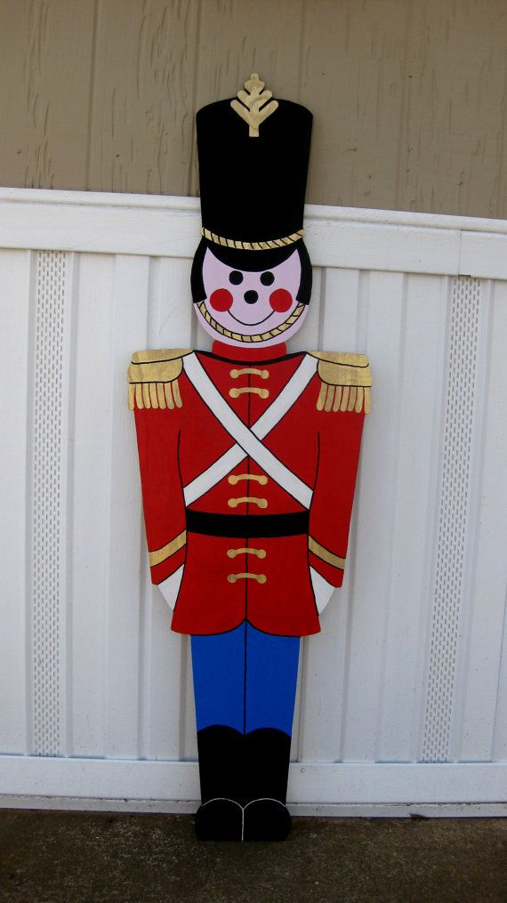 Toy Soldier Christmas yard Display life size 5Ft by ...